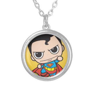 Mini voler de Superman Pendentif Rond