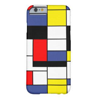 Minimaliste de Piet Mondrian Coque Barely There iPhone 6