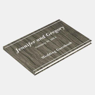Minimaliste, livre d'invité simple de mariage