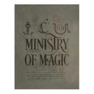 MINISTÈRE DE MAGIC™ CARTE POSTALE