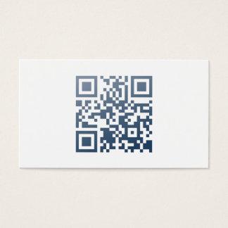 Minitables carte de visite (QR-Code et nom)