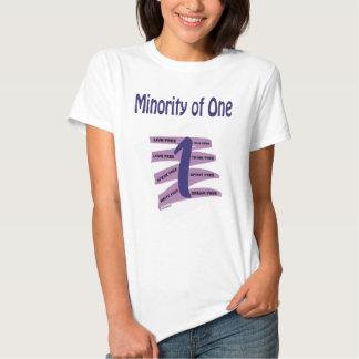 Minorité d'une t-shirts