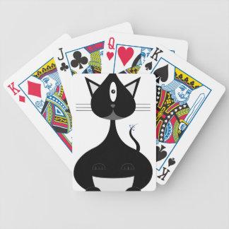 Minou de l'espace jeu de cartes