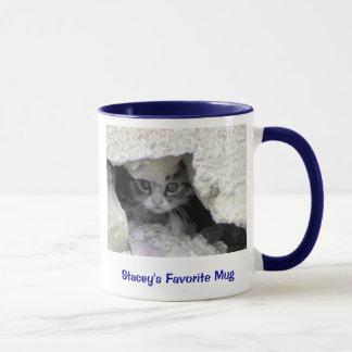 minou sous le porche, la tasse préférée de Stacey