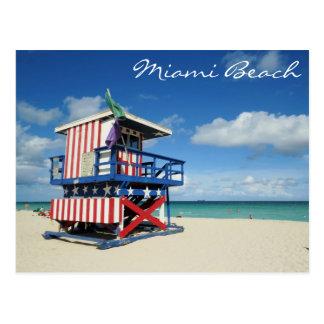 Mirador de Miami Beach la Floride Carte Postale