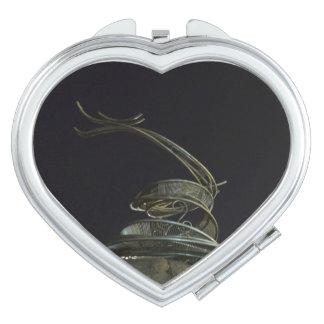 Miroir chinois de contrat de coeur de dragon miroir compact