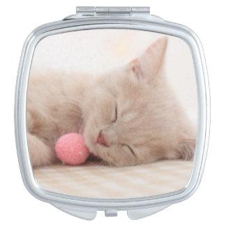 Miroir Compact Chat britannique de Shorthair