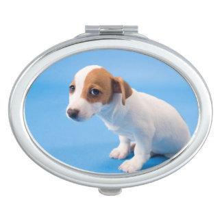 Miroir Compact Chiot de Jack Russell