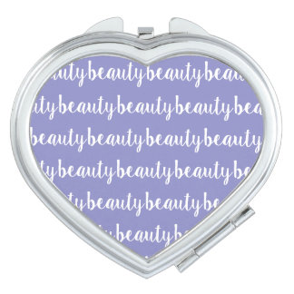 Miroir Compact Couleur lilas