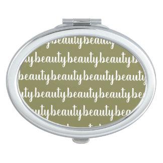 Miroir Compact Couleur olive