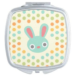 Miroir compact de lapin