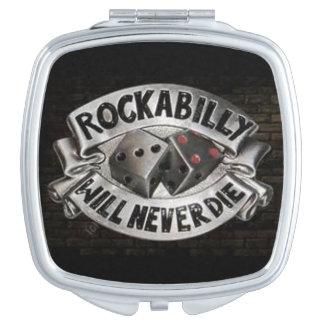 Miroir compact de rockabilly