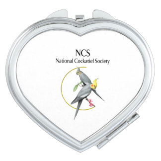 Miroir compact en forme de coeur de NCS