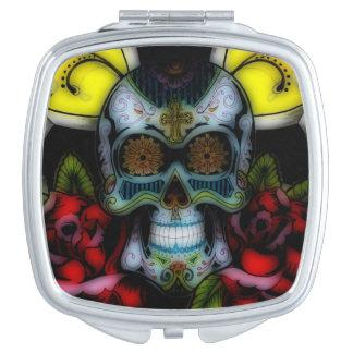 Miroir Compact FLEUR Père Noël Muerte