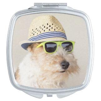 Miroir Compact Fox Terrier