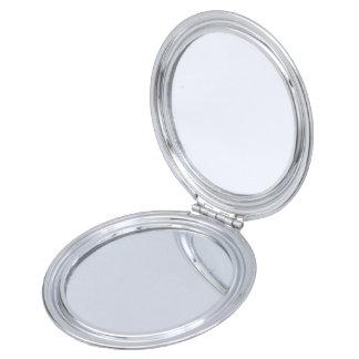 Miroir Compact Le miroir grec de contrat de club d'épouses