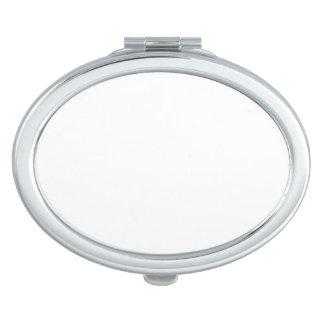 Miroir compact ovale