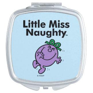 Miroir Compact Petite petite Mlle Naughty de la Mlle   est si