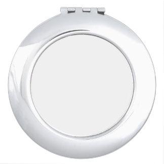 Miroir compact rond
