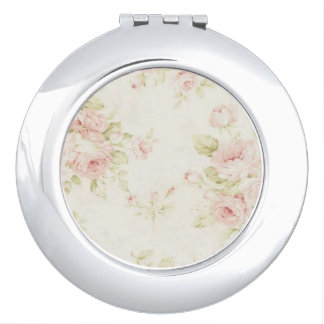 Miroir compact rond - collection chic minable