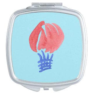Miroir de contrat de carré de ballon à air miroirs de poche