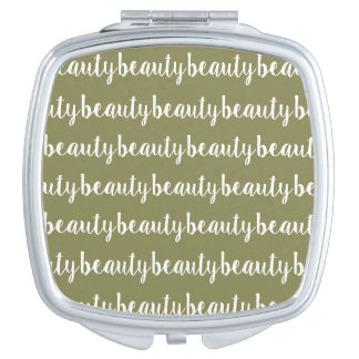 Miroir De Maquillage Couleur olive