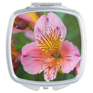 Miroir De Maquillage Jolies fleurs