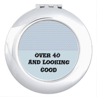 Miroir De Maquillage Lignes onduleuses modernes élégantes concepteur