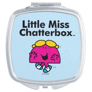 Miroir De Maquillage Petite petite Mlle Chatterbox de la Mlle   est si