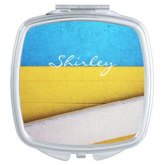 Miroir De Maquillage Résumé Bâtiment-Minimal battu par STaylor