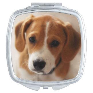 Miroir De Poche Chiot 2 de beagle