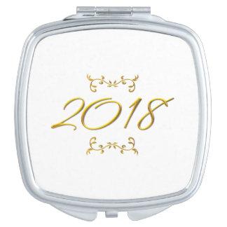 Miroir De Poche Contrat à trois dimensions d'or du regard 2018