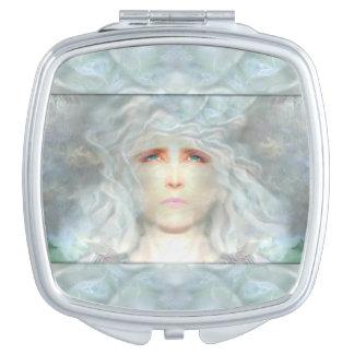 Miroir De Poche La Renaissance blanche