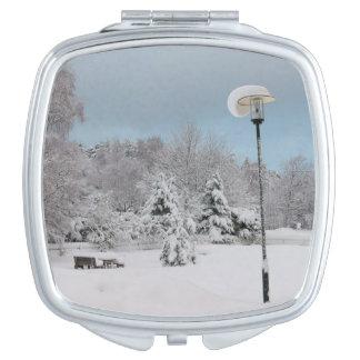 Miroir De Poche Le pays des merveilles d'hiver