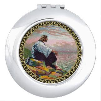 Miroir De Voyage 14h22 de Matthew - 23 Jésus prie seul par la mer