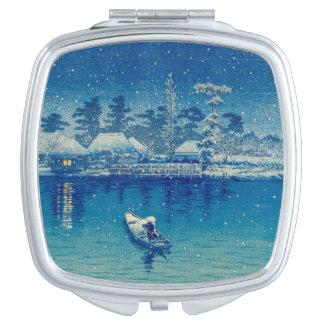 Miroir De Voyage Bateaux japonais