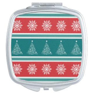 Miroir De Voyage Joyeux Noël