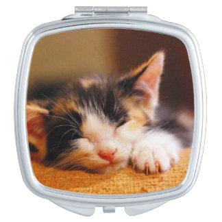 Miroir De Voyage Petit sommeil de Kitty