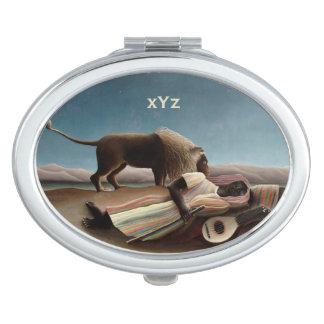 Miroir gitan de poche du sommeil de Rousseau Miroirs De Voyage