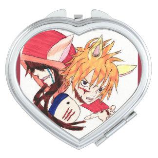 Miroirs À Maquillage Chaperon Rouge version manga