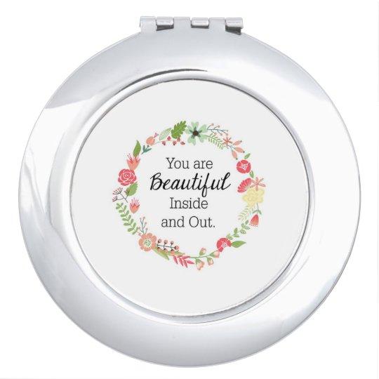 Miroirs À Maquillage Miroir rond compact