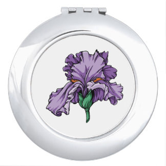 Miroirs compacts d'iris