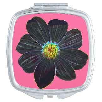 Miroirs Compacts Fleur rougeoyante