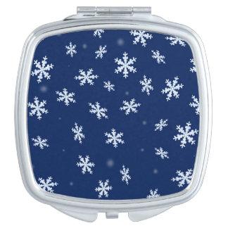 Miroirs Compacts Flocons de neige