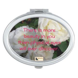 Miroirs Compacts Miroir inspiré - soyez vous
