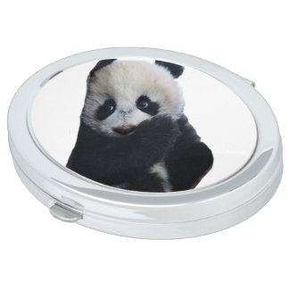 Miroirs Compacts Ours panda
