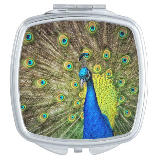 Miroirs Compacts Paon