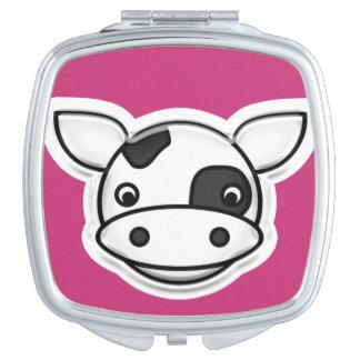 Miroirs Compacts Vache à MOO