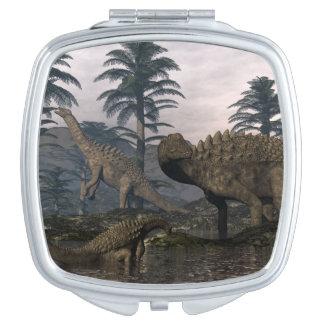 Miroirs De Maquillage Dinosaures d'Ampelosaurus