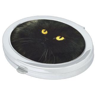 Miroirs De Voyage Chat noir